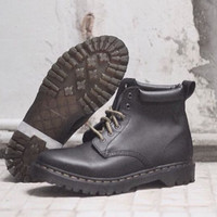 Dr martens 939 saxon black, aged greasy leather