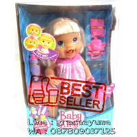 harga boneka baby alive bisa pipis , tumbuh gigi dan mandi BEST SELLER ! Tokopedia.com
