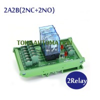 2 Channel OMRON intermediate relay high power module LY2NJ-DC12V DC24V
