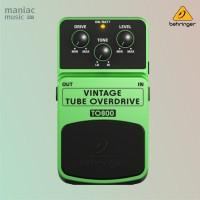 Behringer TO800 (Vintage Tube Overdrive, Efek Stompbox, Gitar & Bass)