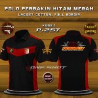 harga Baju Kaos Perbakin Hitam Merah Tokopedia.com