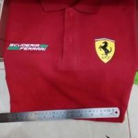 baju kerah/polo shirt FERRARI SCUDERIA