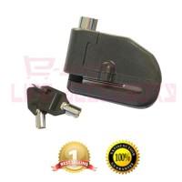 Jual Disch Lock Alarm Gembok Kunci Cakram Disk Motor Anti Maling LK 303 Murah