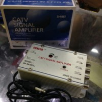 CATV splitter booster Antenna 4 way /4w/CCTV signal amplivier