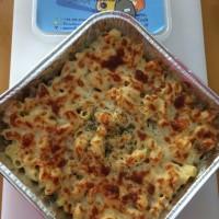 macaroni cheesy baked ( macaroni keju panggang ) Size Family