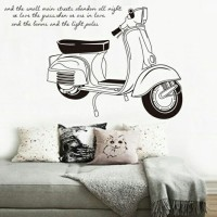 WALL STICKER 60X90 JM7161 VESPA