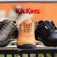 SEPATU CASUAL PRIA KULIT ASLI / Sepatu Kickers Casual Tali Murah