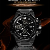 Jual Jam Tangan Pria Original Anti Air Skmei Casio Led Dual Time Import Murah