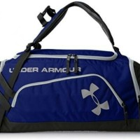 TAS RANSEL TREAVEL BAG UNDER ARMOUR BLUE -BLACK
