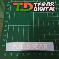 Cutting Sticker Visor Helm Pull & bear