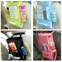 Car bag organizer /tempat penyimpanan pada mobil
