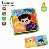 Lamaze Baby Soft Book /Buku Kain Bayi Anak How Do I Feel? For 0m+