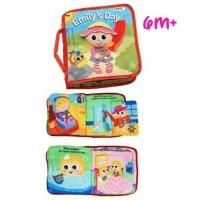 Lamaze Baby Soft Book /Buku Kain Bayi Anak Emily's Day For 6m+