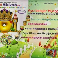 ABACA Flash Card Seri Belajar Hijaiyah | Berburu di Istana Raja Donat