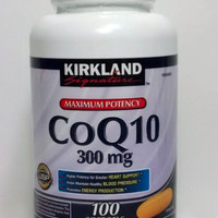 Kirkland Maximum Potency CoQ10, 300 mg, 100 Soft Gels