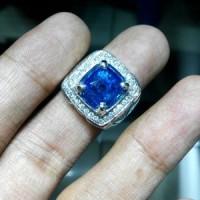 harga Batu Blue Sapphire Ceylon (Ring Emas & Berlian) Original Tokopedia.com