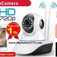 Jual GlobeEye Wireless Portable IP camera CCTV HD 1.3MP Baby Monitoring Murah