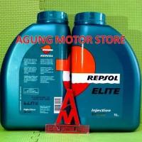 harga Oli Mesin Mobil Repsol Elite Injection 10w40  ( 1 Liter ) Tokopedia.com