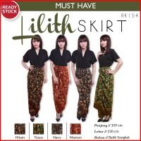 Lilith Skirt Rok Lilit Batik Songket Rok Wanita RK154