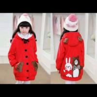 Mantel Anak Perempuan Karakter Red Rabbit