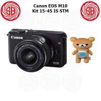 Kamera Canon EOS M10 Kit + M15-45mm ; Camera Mirrorless M10 Kit ; 18MP