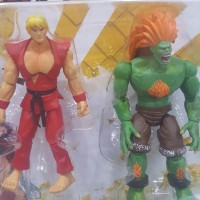Jazwares Street Fighter - Ken vs Blanka