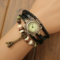 harga jam-tangan-gelang-kulit-kepang-lilit / braid leather watch Tokopedia.com