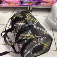harga tas travel kucing anjing slempang  ransel small Tokopedia.com