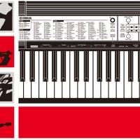 YAMAHA KEYBOARD PORTABLE PSR-F50 / PSR F50 / F 50