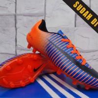 harga Sepatu Bola Anak Nike Mercurial Proximo Orange Biru (sepatu bola,kids) Tokopedia.com