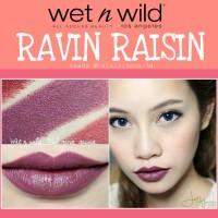 WET N WILD MEGALAST LIPSTICK RAVIN RAISIN