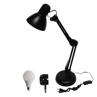EELIC, JM-800 + Jepit + Sip Lite 5 Watt Lampu Meja Belajar Arsitek,