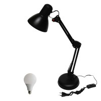 EELIC, JM-800 + Sip Lite 5 Watt Lampu Meja Belajar Arsitek, Desk Lamp