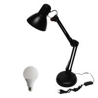 EELIC, JM-800 + Sip Lite 7 Watt Lampu Meja Belajar Arsitek, Desk Lamp