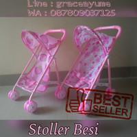 harga stoller trolley dorongan boneka baby alive , tutu doll , dll Tokopedia.com