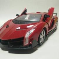 Mobil Remot Control Model Lamborghini Veneno Open Door Auto Remot