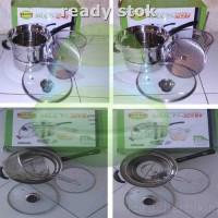 Panci Serbaguna/ Kitchen Queen Luxury Classic Multi Pot, tutup kaca
