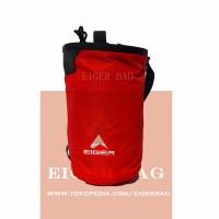 Tas Tabung Travel Eiger 6304 Merah / Outdoor / Kantor / Fashion / Pria