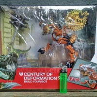 MAINAN ACTION FIGURE TRANSFORMERS GRIMLOCK LEADER CLASS