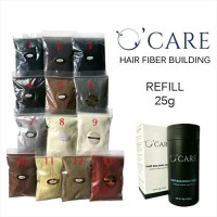 harga Refill Hair Fiber Building Concealer Ocare Bukan Sevich Dexe Fully 25g Tokopedia.com