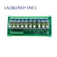 10 channel Omron PLC control panel relay module G2R-1-E 12V 24V 1A1B