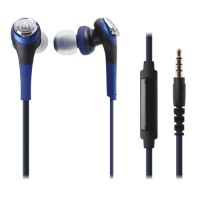 Audio Technica Solid Bass In-Ear Headphones ATH-CKS550iS BL (EX)-Biru