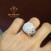 PROMO Cincin berlian fashion 1.71 ct ring emas putih