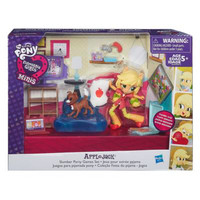 harga My little Pony Equestria Girl mini Apple Jack Slumber Party Tokopedia.com