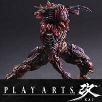 mainan action figure predator play arts kai alien hunters