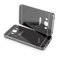 Case Samsung Galaxy J7 2016 (J710) Bumper Mirror - Black