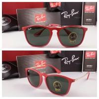 Kacamata Rayban chriss gagang merah Premium