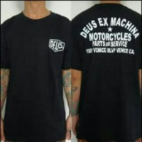 T - shirt / Kaos DEUS EX MACHINA * MOTOR CYCLES