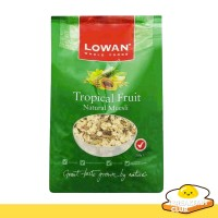 Lowan Whole Foods Tropical Fruit Natural Muesli | Muesli Sarapan 500Gr