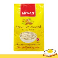 Jual Lowan Apricot & Almond Muesli Oat 500g | Havermout | Havermut, Healthy Murah